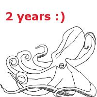 2 years anniversary