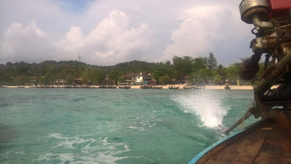 Koh Lipe from the boat