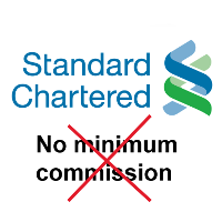 Standard Chartered introduces minimum commission