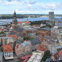 The city of Riga