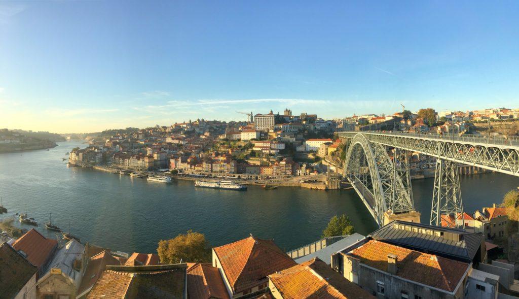 The city of Porto
